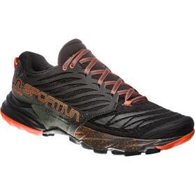 La Sportiva Akasha Shoes Herre black/tangerine